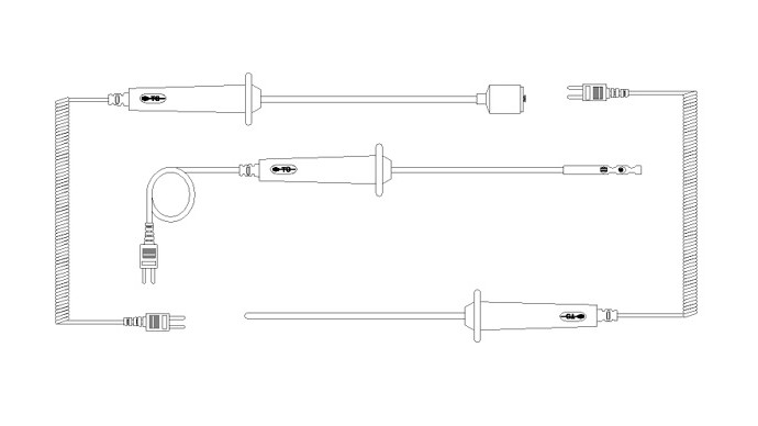 Temperature Specialists Molded Handle Probes