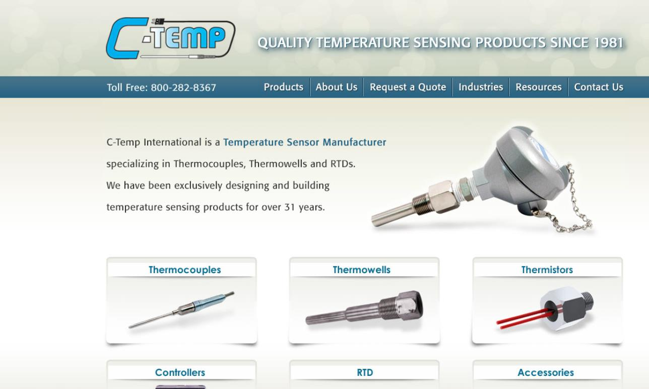 More Thermocouple Manufacturer Listings