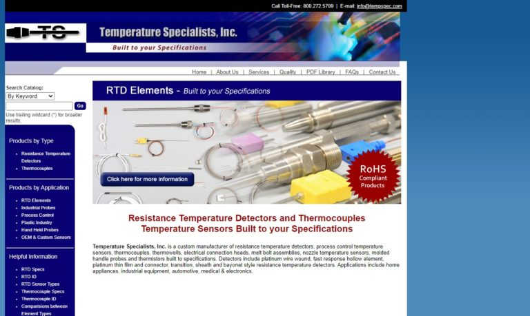 Temperature Specialists, Inc.